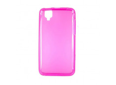 Coque Wiko Sunset Regular Flex-rose
