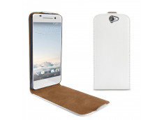 Etui HTC One A9 Business Class-Blanc