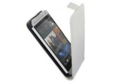 Etui HTC One Mini M8 Business Class-Blanc
