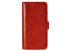 Etui iPhone X Classic Leather-Rouge