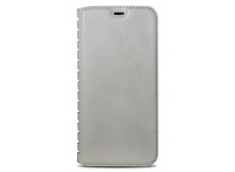 Etui iPhone X Book Flip-Blanc