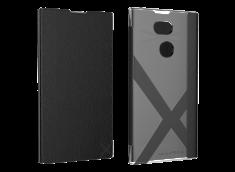 Etui Sony Xperia XA2 Ultra MFX Folio Case-Noir