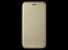 Etui Huawei P20 Lite Flip Metalic-Or