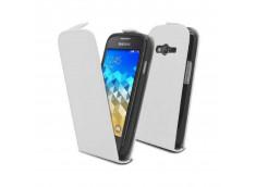 Etui Samsung Galaxy Trend 2 Lite Business Class-Blanc