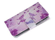Etui Wiko Cink King Purple Butterfly