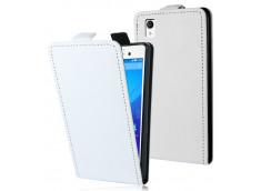 Etui Sony Xperia M4 Aqua Business Class-Blanc