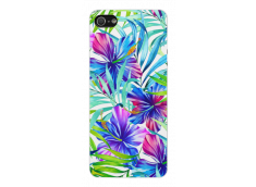 Coque iPhone 5C Exotic Flowers