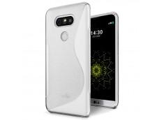 Coque LG G6 Silicone Grip-Transparent