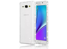 Coque Samsung Galaxy A7 Clear Strass-Transparent