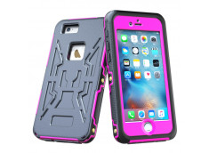 Coque iPhone 6 Plus/6S Plus Waterproof Armor- Rose