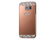 Coque Samsung Galaxy S7 Edge Diamond Mirror Rose Gold