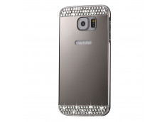 Coque Samsung Galaxy S7 Edge Diamond Mirror Silver