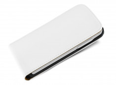 Etui Sony Xperia M5 Business Class-Blanc