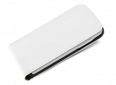 Etui Sony Xperia E4 Business Class-Blanc