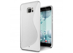 Coque HTC U Ultra Silicone Grip Transparente