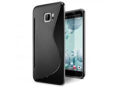 Coque HTC U Ultra Silicone Grip Noir