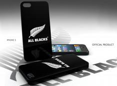Coque Officielle iPhone 5/5S All Blacks-Black