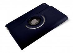 Etui iPad 10.2 7ème Génération Spin 360°-Bleu Foncé