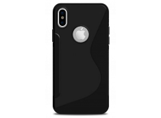 Coque iPhone X Silicone Grip-Translucide