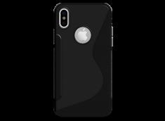 Coque iPhone X Silicone Grip-Translucide