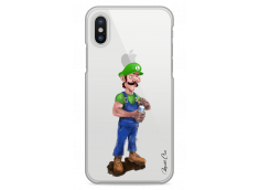 Coque iPhone X Luigi