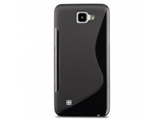 Coque LG K4 Silicone Grip-Noir