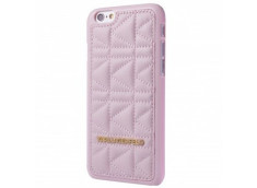 Coque iPhone 5/5S/SE Karl lagerfeld kuilted rose