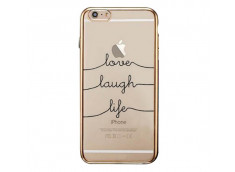 Coque iPhone 7 Plus Love Laugh Life