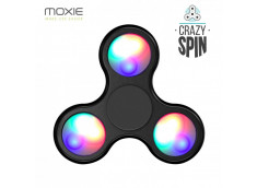 Crazy Spin LED- l'Anti Stress Black