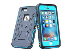 Coque iPhone 6 Plus/6S Plus Waterproof Armor- Bleu