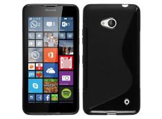 Coque Microsoft Lumia 640 Silicone Grip-Noir
