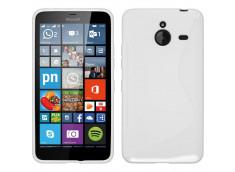 Coque Microsoft Lumia 640 XL Silicone Grip-Blanc