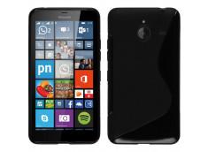 Coque Microsoft Lumia 640 XL Silicone Grip-Noir