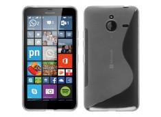 Coque Microsoft Lumia 640 XL Silicone Grip-Translucide