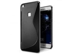 Coque Huawei P20 Lite Silicone Grip Noir