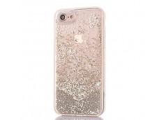 Coque iPhone 7/ iPhone 8 Liquid Pearls-Argent