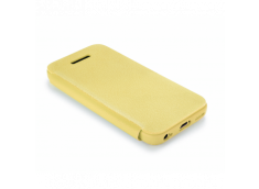 Etui iPhone 5C TEX-FOLIO-Jaune