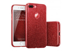 Coque iPhone 6 Plus/6S Plus Glitter Protect Rouge