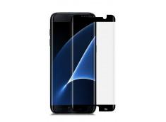 Film Protecteur Samsung Galaxy S7 Edge en verre trempé-Noir (Case Friendly)