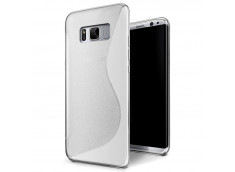 Coque Samsung Galaxy S8 Silicone Grip-Translucide