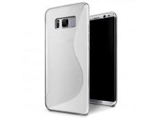 Coque Samsung Galaxy S8 Plus Silicone Grip-Translucide