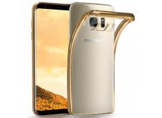 Coque Samsung Galaxy A8 2018 Gold Flex