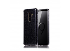 Coque Samsung Galaxy S9 Glitter Protect-Noir