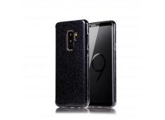 Coque Samsung Galaxy A6 2018 Glitter Protect-Noir