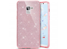 Coque Samsung Galaxy S9 Glitter Protect-Rose