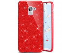 Coque Samsung Galaxy S8 Glitter Protect-Rouge
