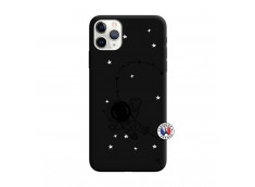 Coque iPhone 11 PRO MAX Astro Girl Silicone Noir
