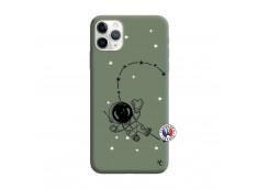 Coque iPhone 11 PRO MAX Astro Girl Silicone Vert