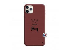 Coque iPhone 11 PRO King Silicone Bordeaux
