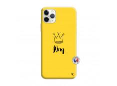 Coque iPhone 11 PRO King Silicone Jaune